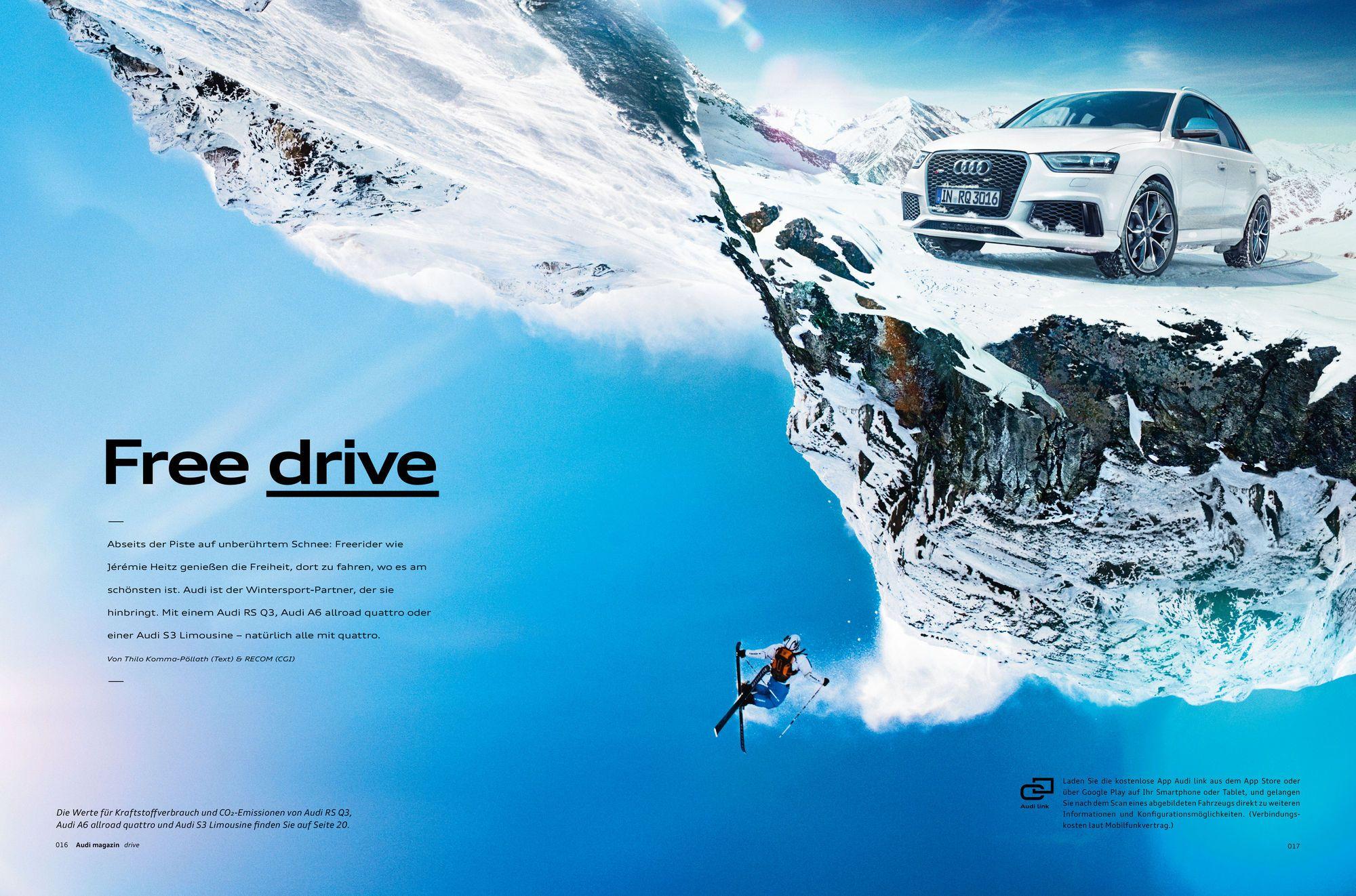 RECOM CGI : AUDI Magazin 01/2014 | RECOM GmbH & Co. KG | presented by GoSee ©