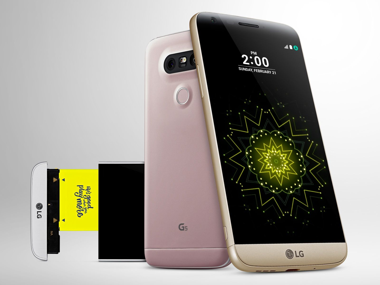 awesome هاتف ال جي G5 يخطف الأنظار
