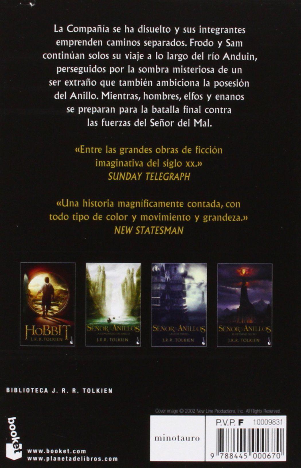 Pack Tolkien El Hobbit La Comunidad Las Dos Torres El Retorno del Rey Biblioteca  J. R. R. Tolkien