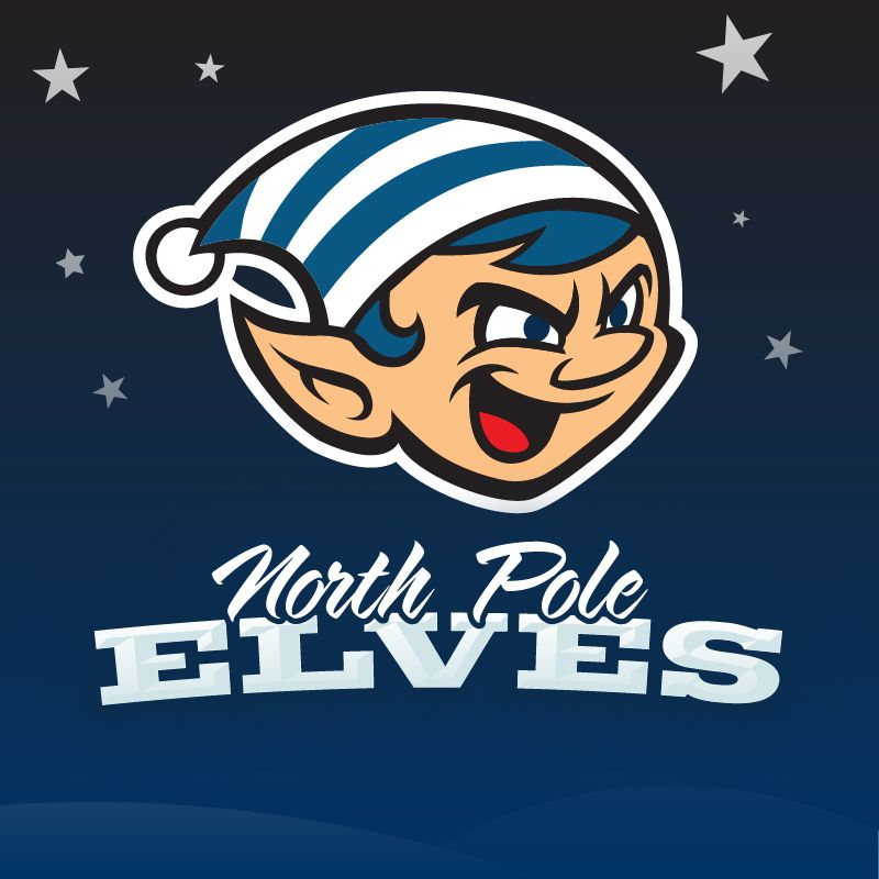Tag Team North Pole Elves Logo