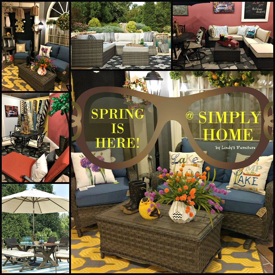 Spring is here at Simply Home...All new Outdoor Sets!! Come in or visit us online today!! www.simplyhomehic... 828-855-3711 or 4th Floor, Hickory Furniture Mart, Hickory, NC
