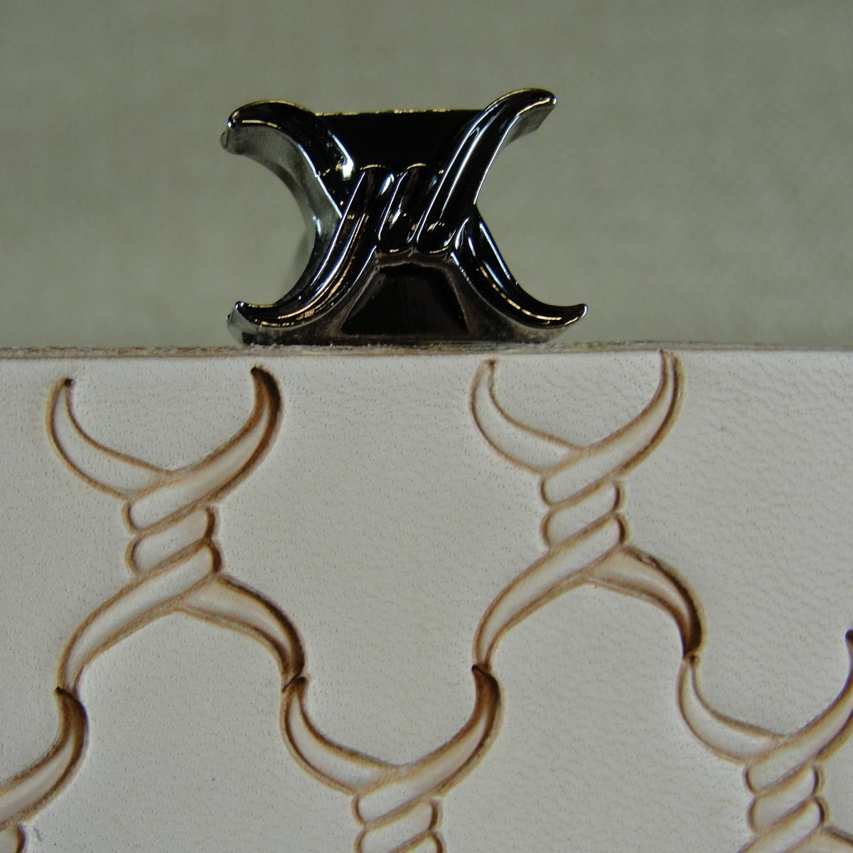 Leather Stamping Tool James Linnell Shining Light Meandering Border Stamp
