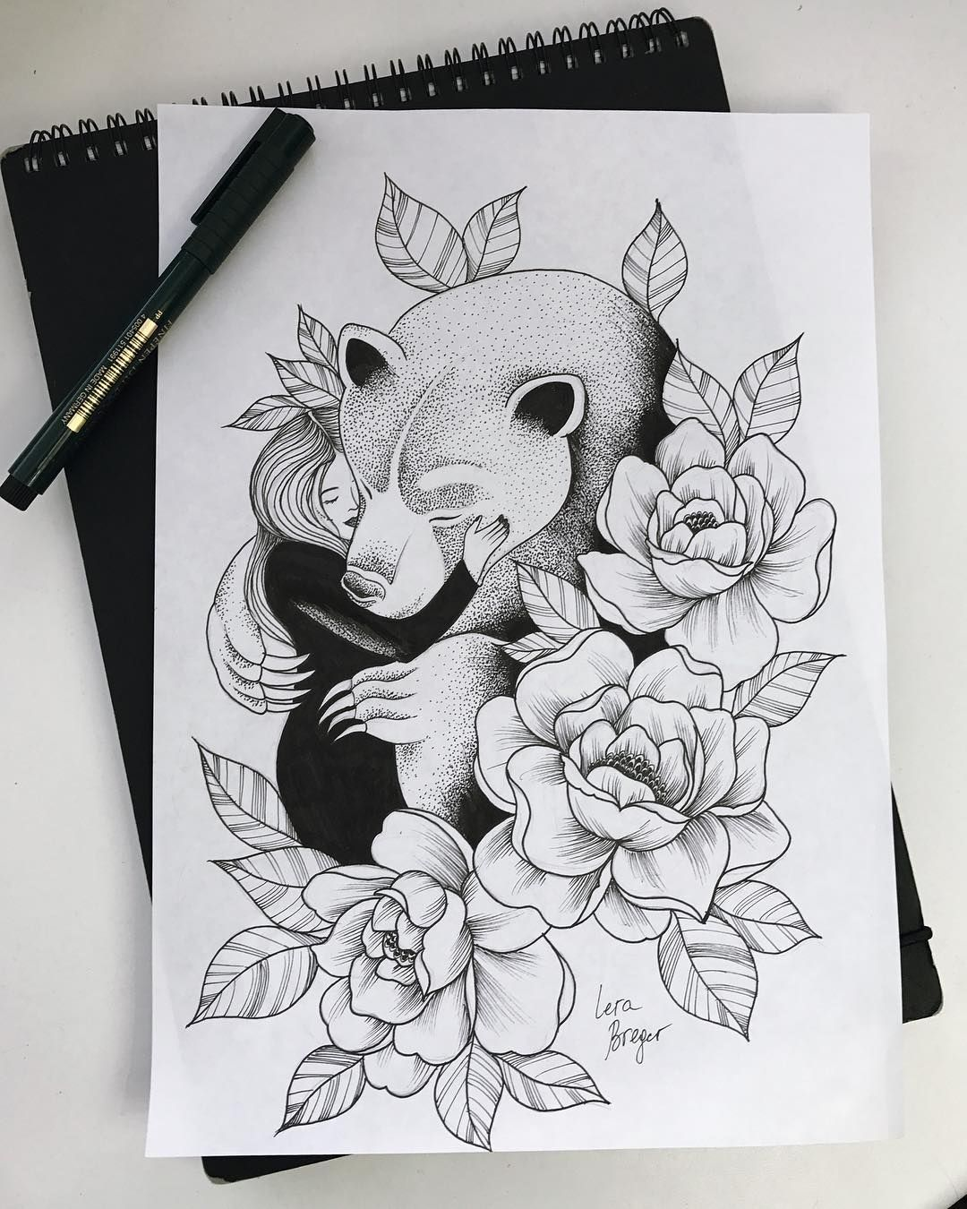 Tattoo Designs Sketches: Bear Tattoo Meaning And Symbolism - THE WILD TATTOO