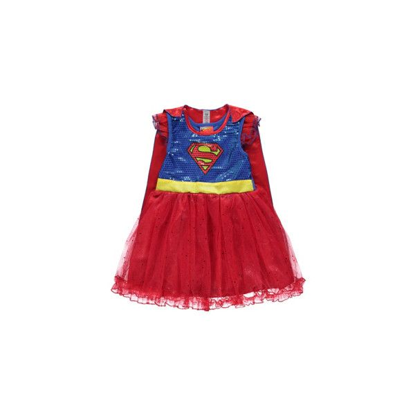 George Supergirl Fancy Dress Costume ($18) ❤ liked on Polyvore ...