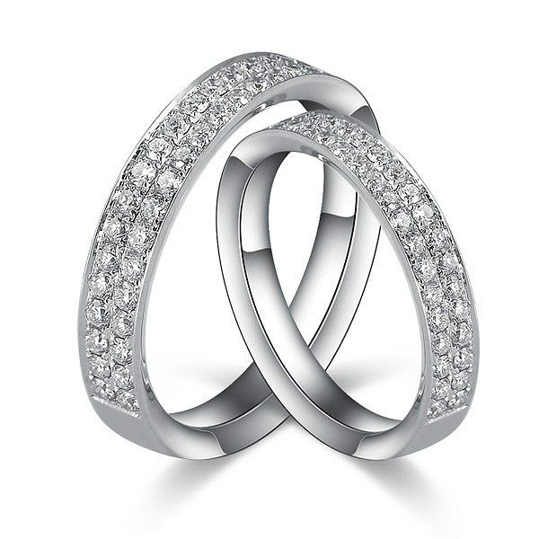 1 Carat Diamond S His And Her Rings Bands