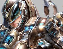 Character Design ( game project ) by Yu Cheng Hong, via Behance