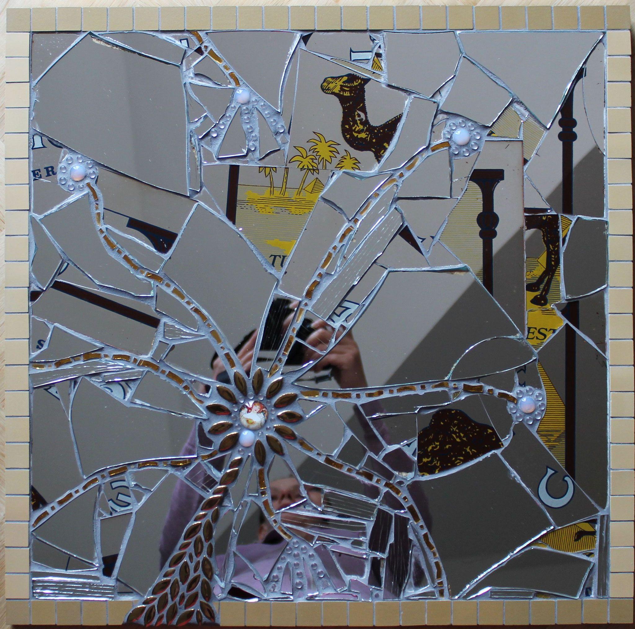 Mosaik Spiegel Selbst Wenn Alles Zerbricht Scherben