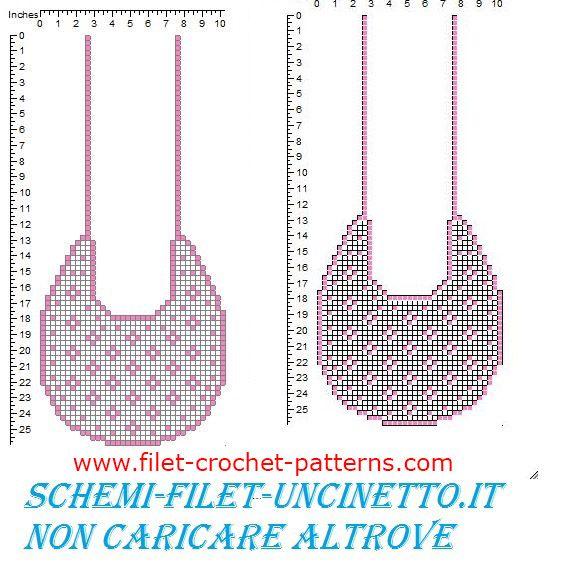 Baby bib with small flowers free filet crochet pattern filet baby bib with small flowers free filet crochet pattern dt1010fo