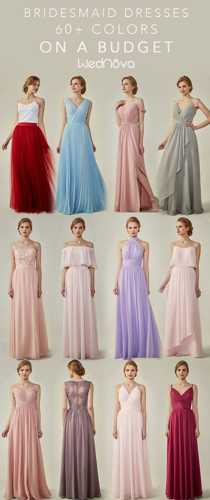 afc65f4f0 bridesmaid dresses on a budget Wednova offers 60+ colors. Shop our ...
