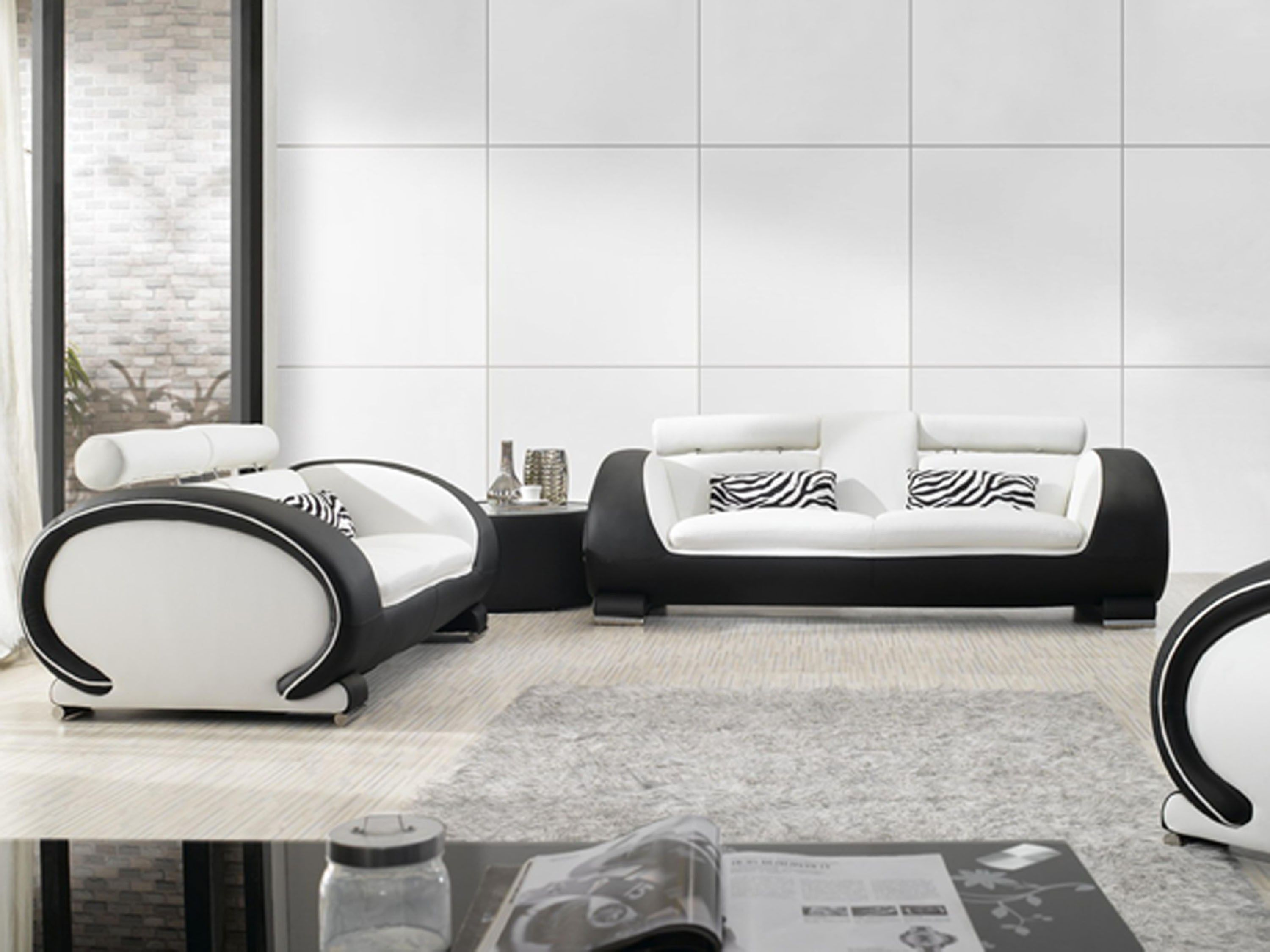 White Leather Couch Tips To Keep Them Clean My Decorative White Sofa Design Black And White Sofa Leather Sofa Set
