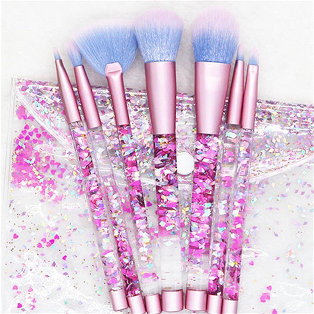 King Love Star New Makeup Brushes 7 Pieces/Set Quicksand