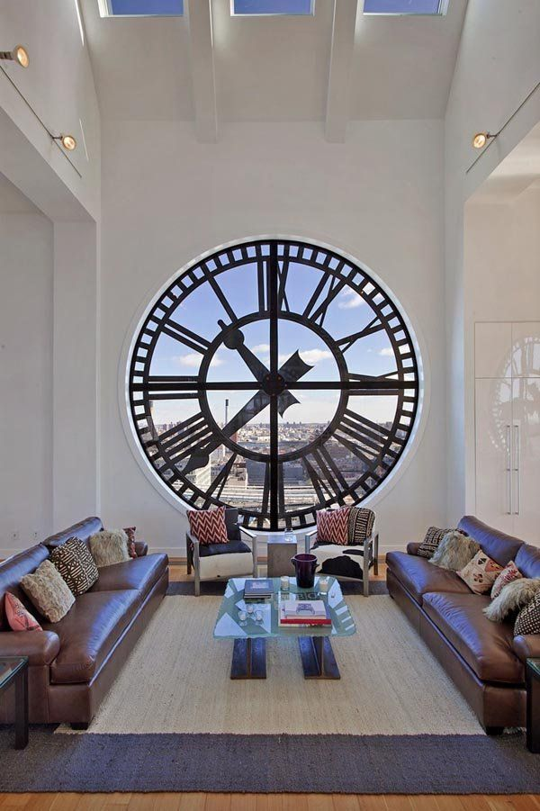 Insane Clock Tower Turned In Dumbo