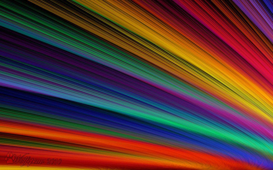 Shafts of Rainbow Light by wolfepaw on DeviantArt