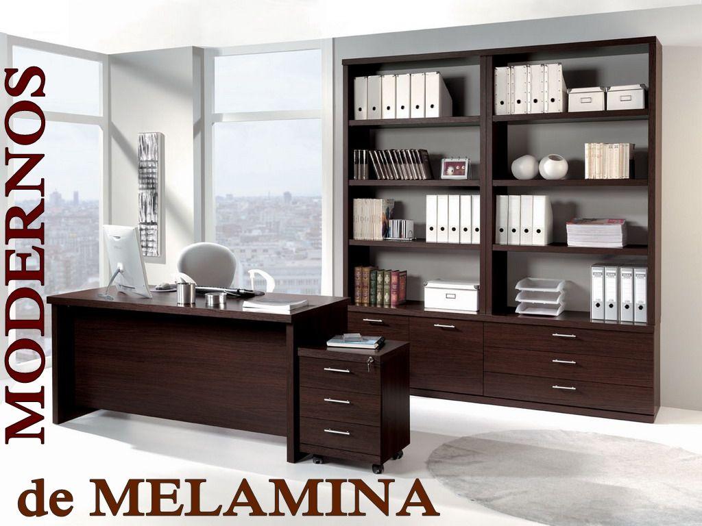 Muebles modernos de melamina mdf por encargo de for Diseno de muebles de oficina modernos