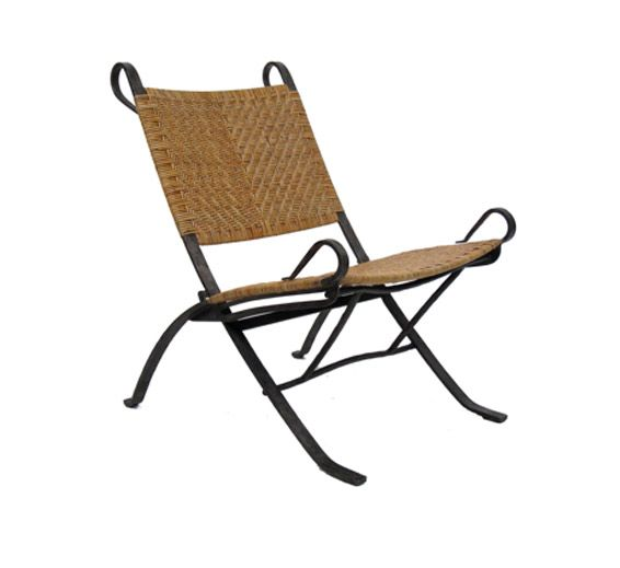Petal Lounge Chair Iron Material Indoor Furniture The Wicker Works Folding Lounge Chair Indoor Furniture At Home Furniture Store