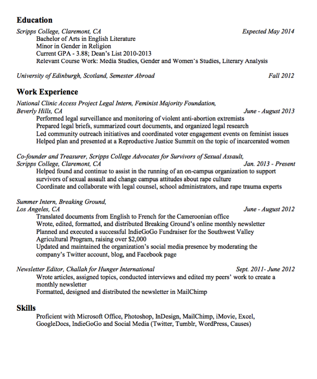 Sample Newsletter Editor Resume  HttpExampleresumecvOrg