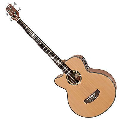 New #electro acoustic bass guitar by #gear4music, left #handed,  View more on the LINK: 	http://www.zeppy.io/product/gb/2/272051678550/