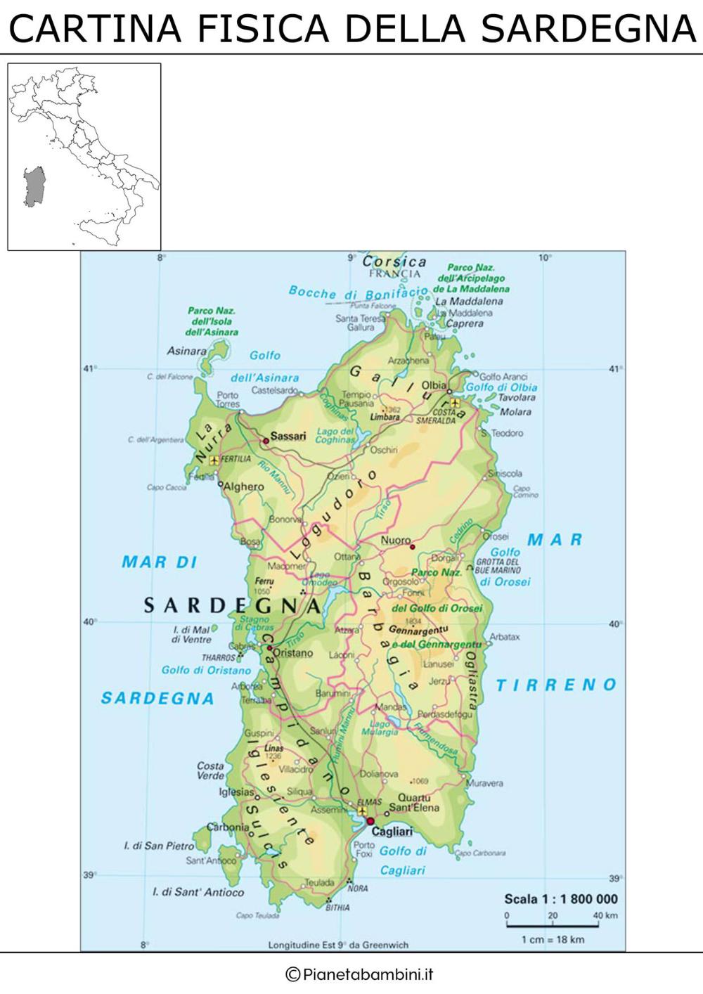 Cartina Sardegna Tharros.Cartina Fisica Della Sardegna Da Stampare Ricerca Google Nel 2020 Sardegna Fisico Geografia