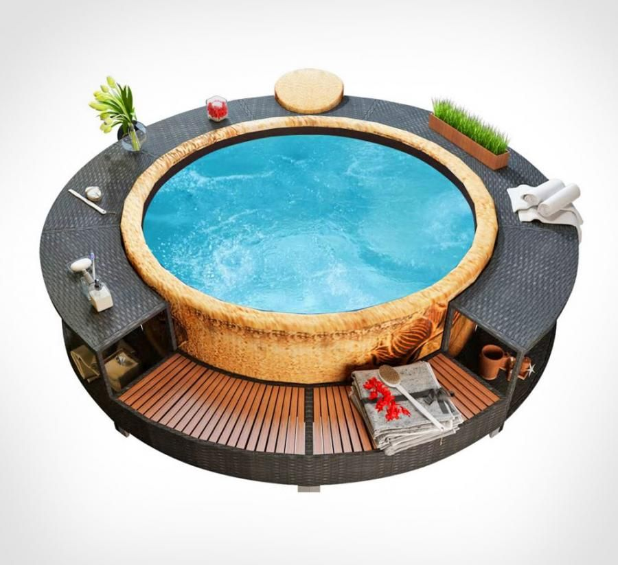 Every Inflatable Hot Tub Owner Probably Needs This