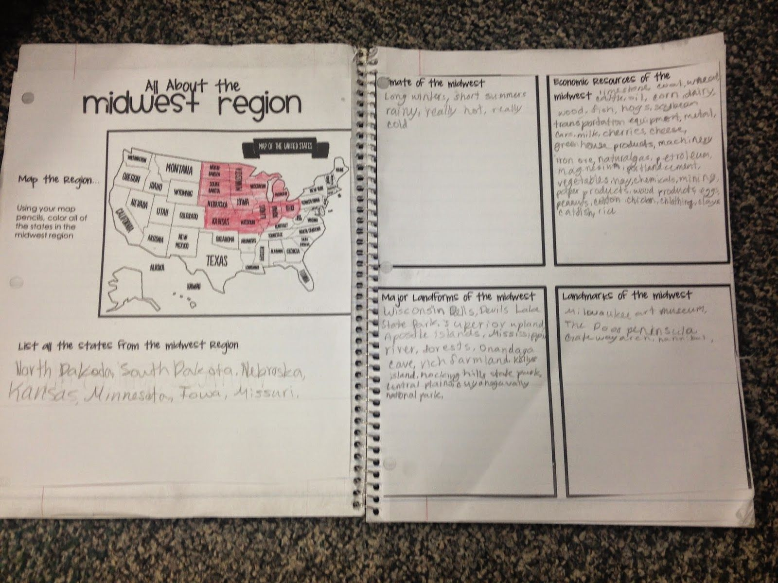 American history Katie Lately States u0026 Regions