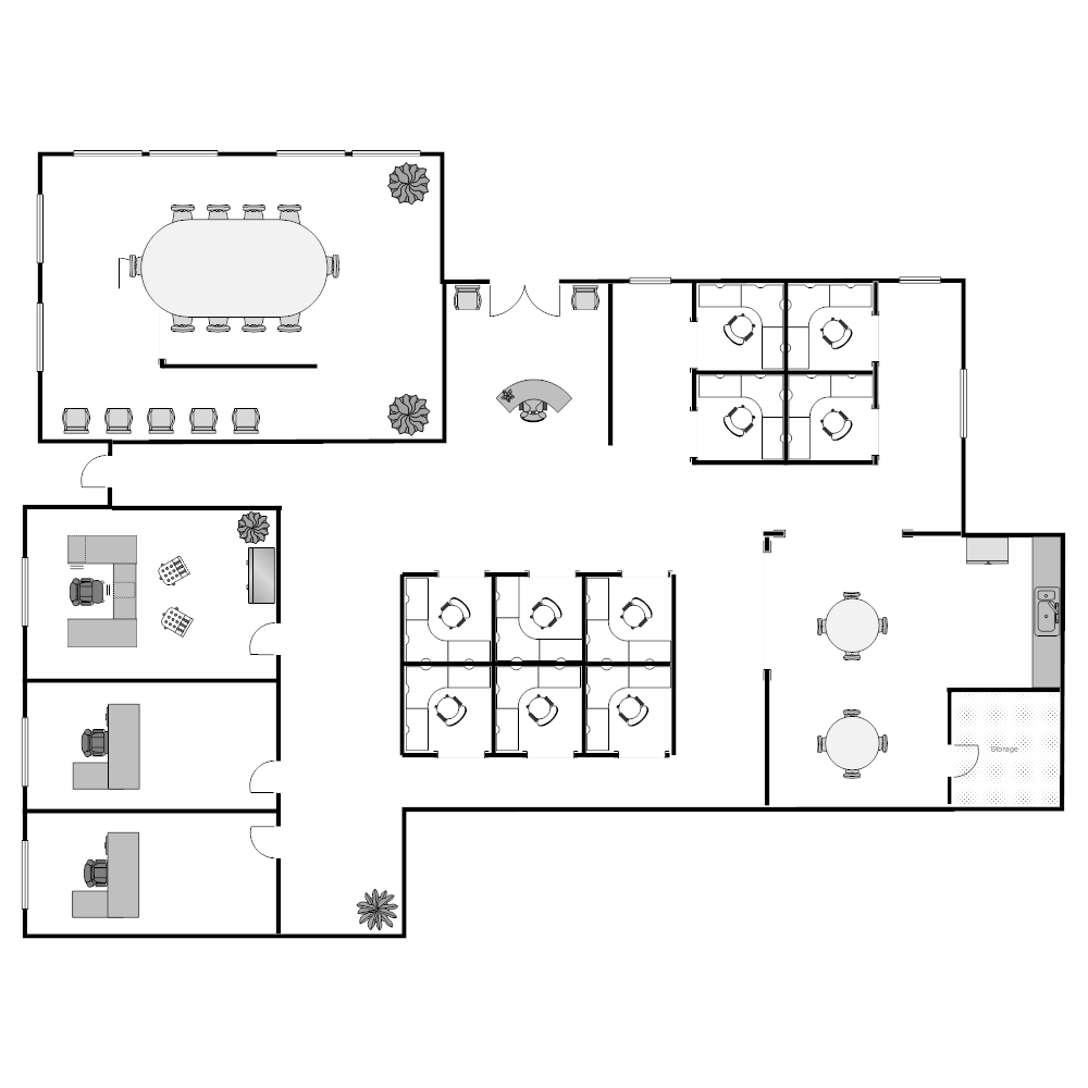 Image Result For Warehouse Floor Plan The Plan Ruang Kantor Ruangan Kantor