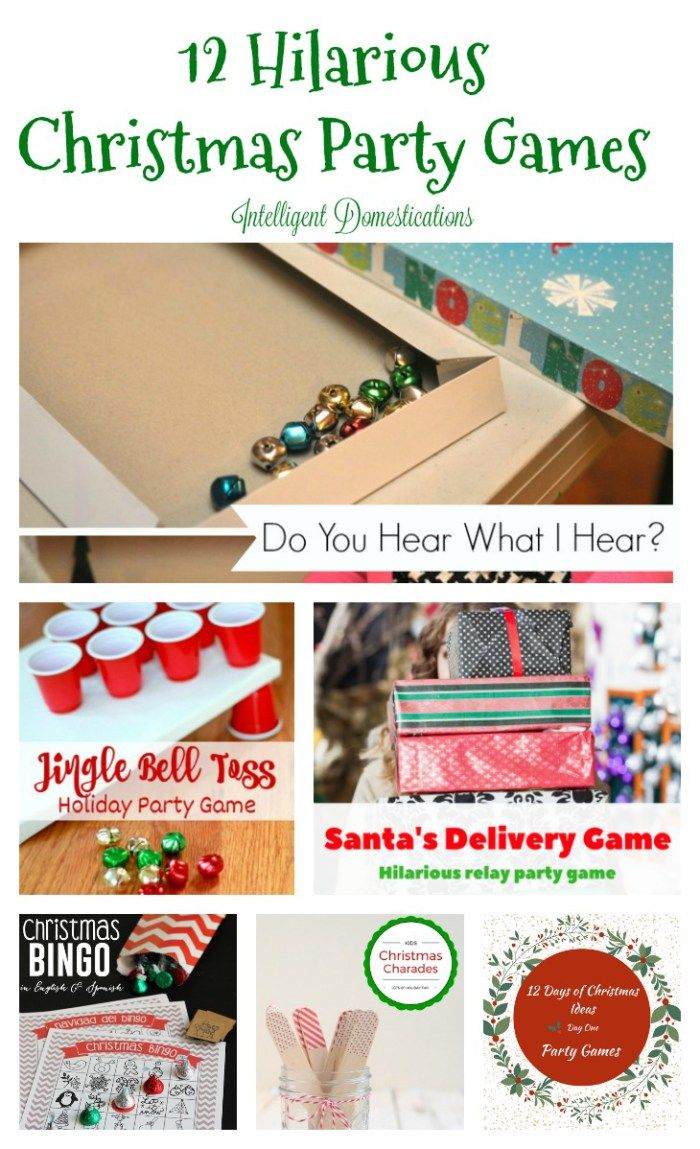 Family Christmas Party Game Ideas Part - 23: Itu0027s Day One Of Our 12 Days Of Christmas Series And We Are Sharing 12  Hilarious Christmas Party Game Ideas Sure To Have You In Stitches The All  Season Long!