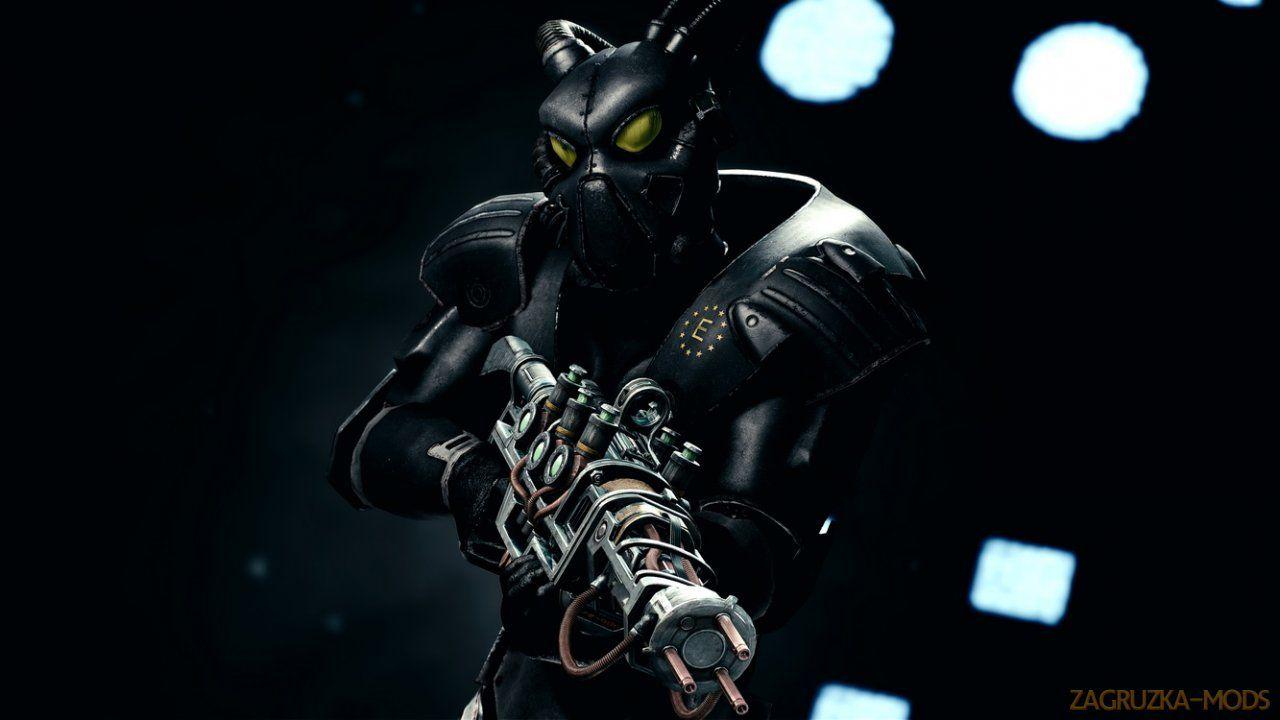 Enclave remnants armor v40 for fallout 4