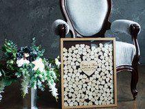 Hochzeit Gästebuch, Holz Gästebuch