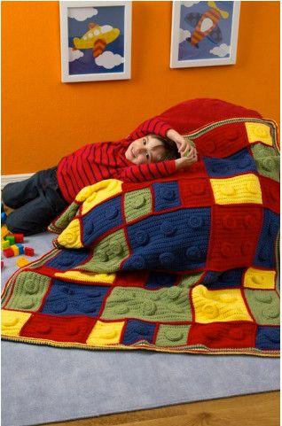Lego Kids throw blanket