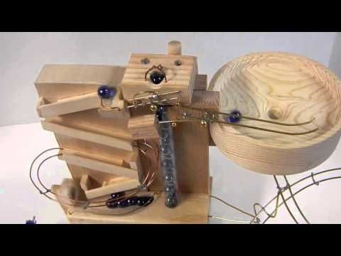 Youtube Marble Machine Rolling Ball Sculpture Marble Run