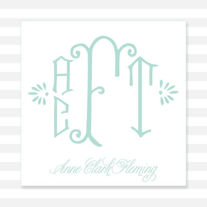 4-Letter Botanical   Calling Card