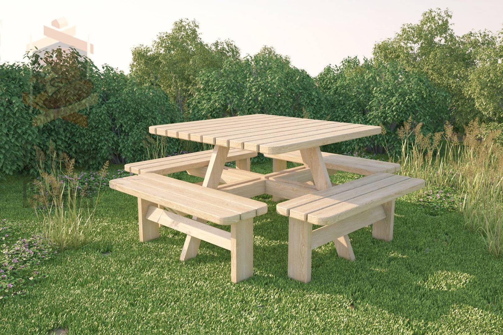 8 Seater Garden Seats | Garden seating, Wooden garden ...