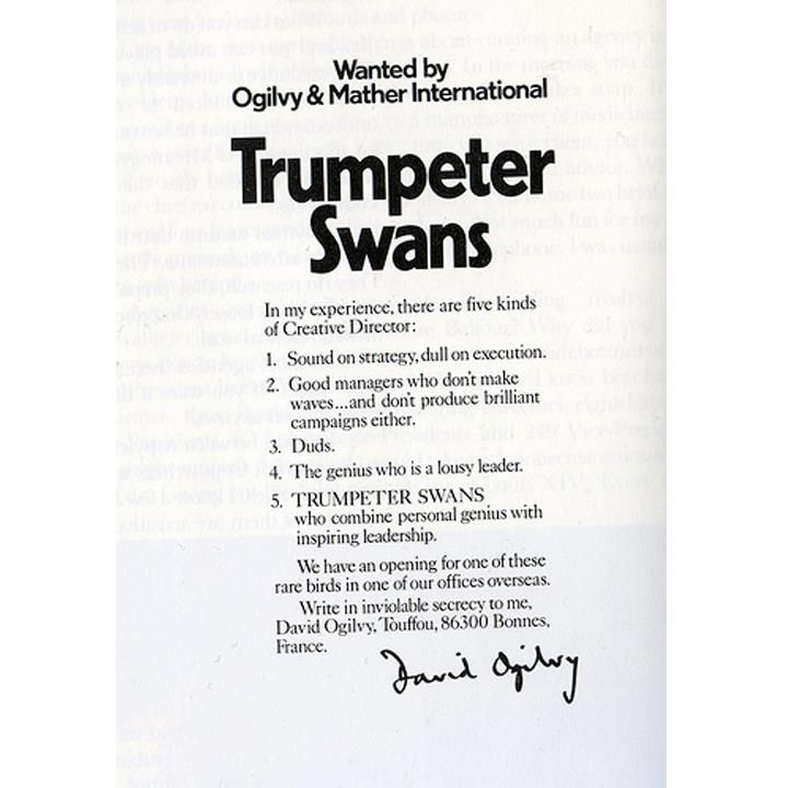 David Ogilvyu0027s way of recruiting talent Hereu0027s an advertisement - copywriter advertising resume