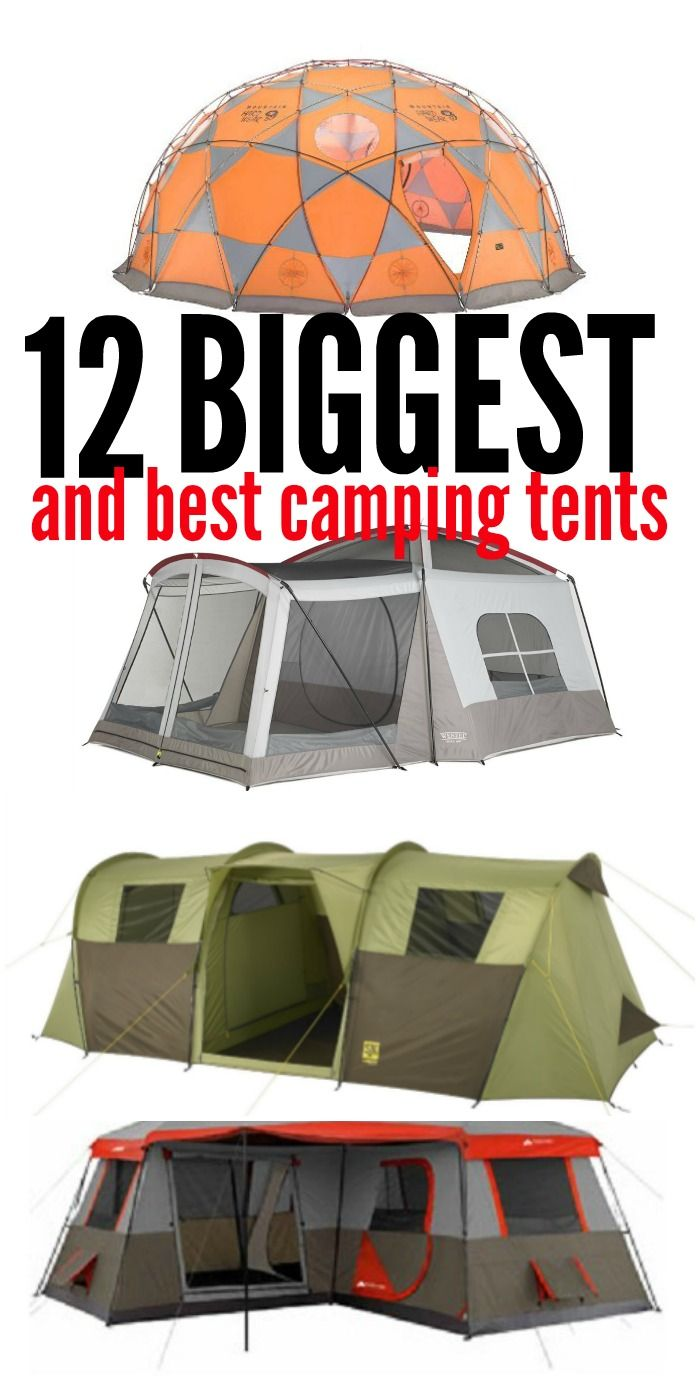 Photo of 12 of the Biggest and Best Tents for Large Families