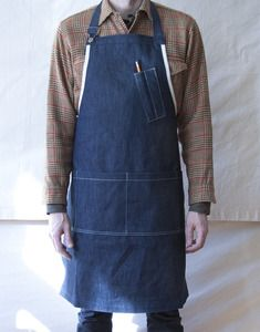 good idea...a denim apron