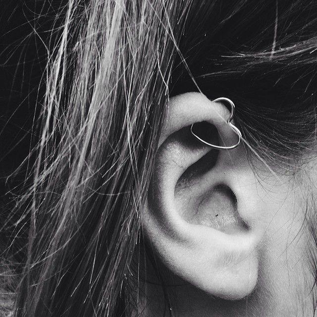 Heart Earring Accessories Pinterest Heymercedes Daith