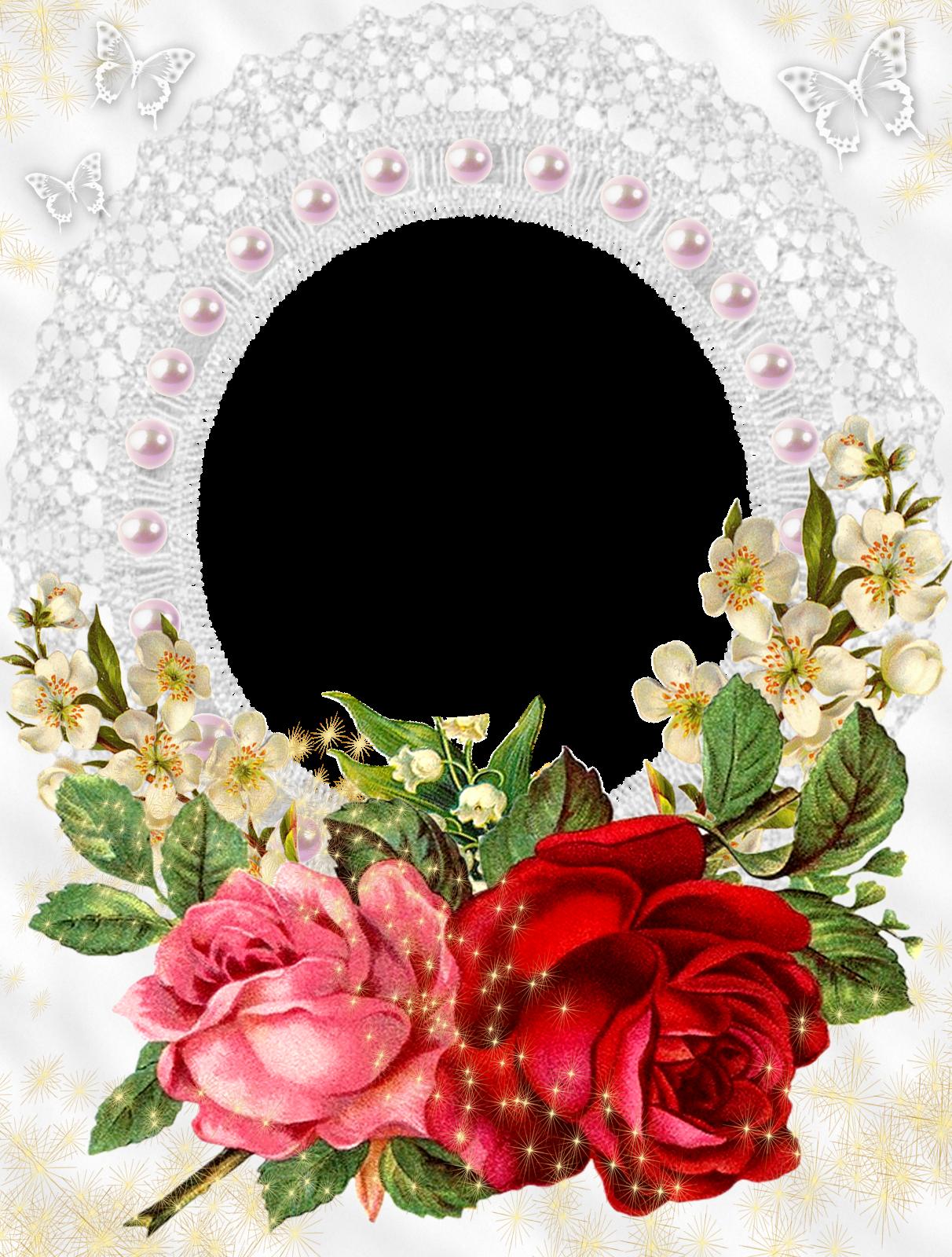 Frames Casamento 289 29 Png 1 212 1 600 Pixels Flower Frame Rose Frame Beautiful Flowers Images