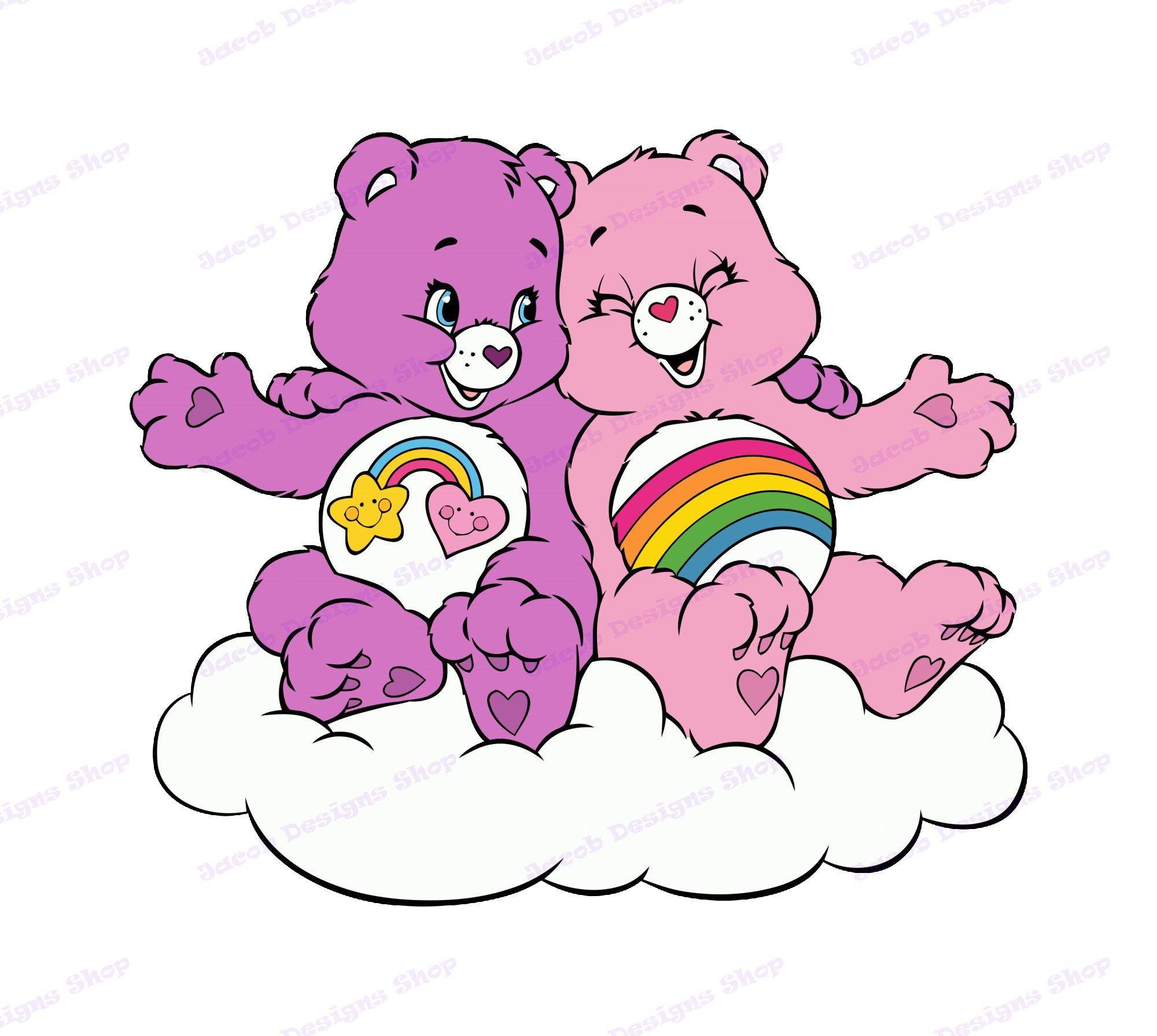 Care Bears SVG 1, svg, dxf, Cricut, Silhouette Cut File, Instant Download