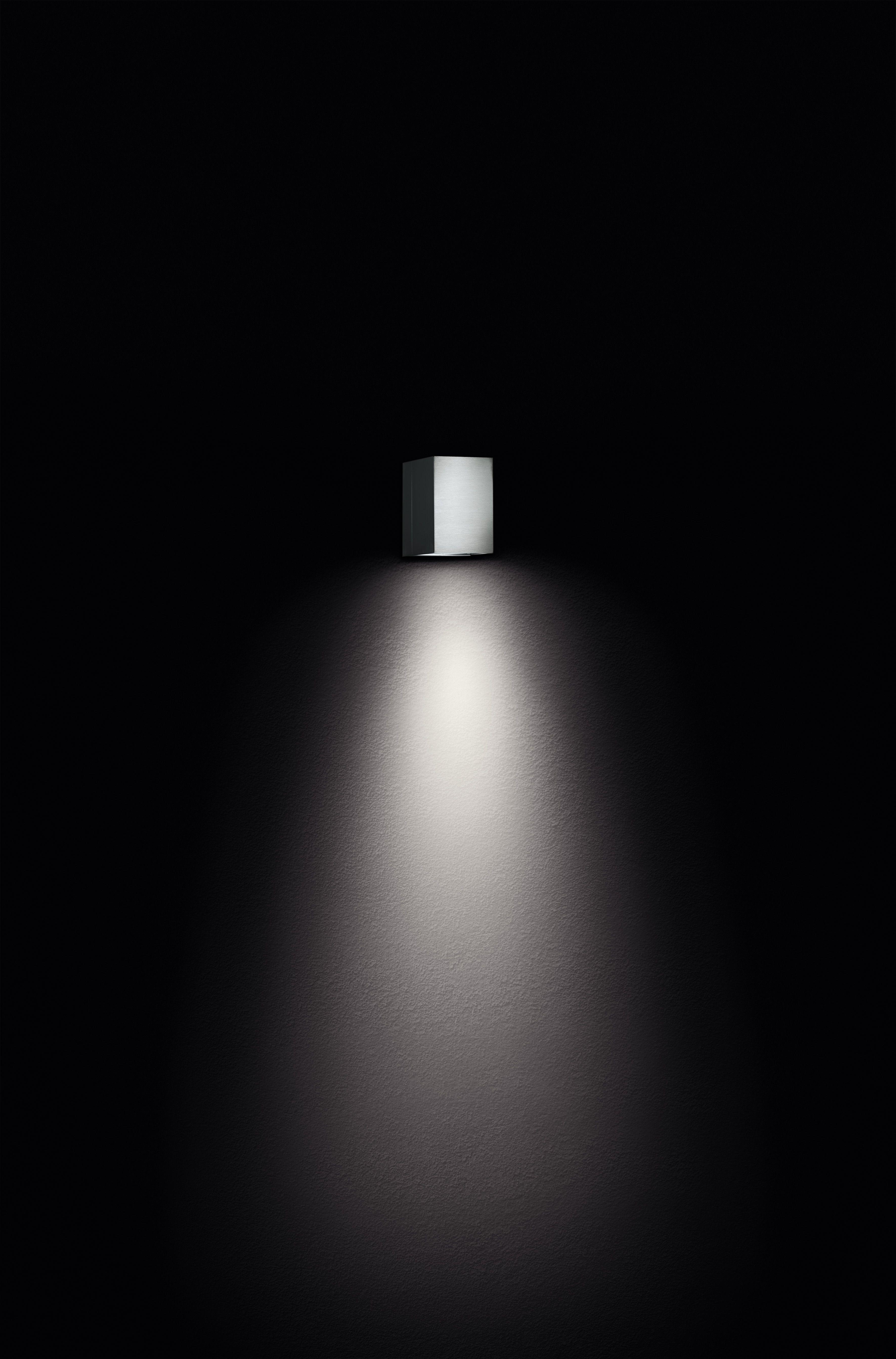 Außenleuchte . Wall Luminaire . Wandleuchte . Stainless Steel . Edelstahl