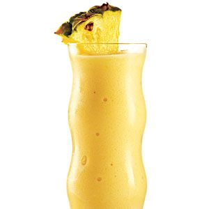 Been looking for a low cal skinny pina colada recipe, this may be a good starting point.