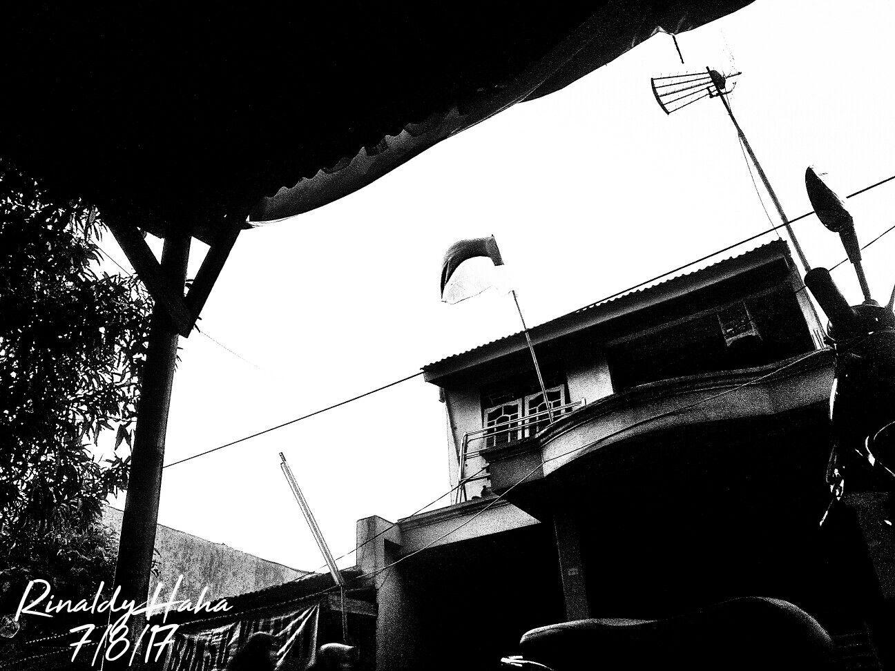 Black and white , Indonesian Flag . Bendera Hitam Putih