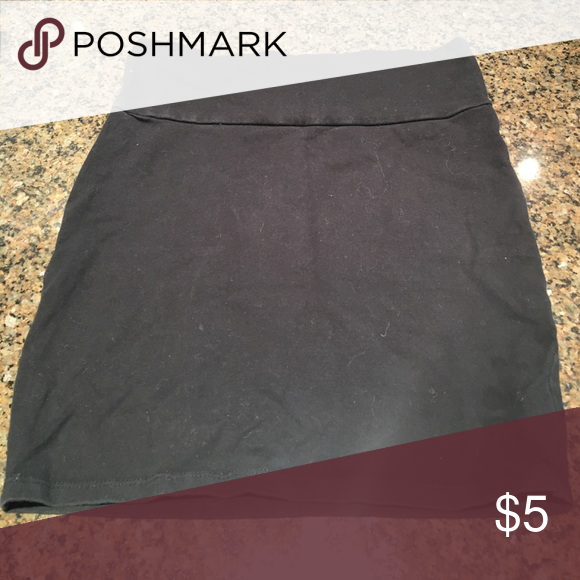Black Extremely Fitted Skirt Bodycon black skirt! Size medium! Charlotte Russe Skirts Mini