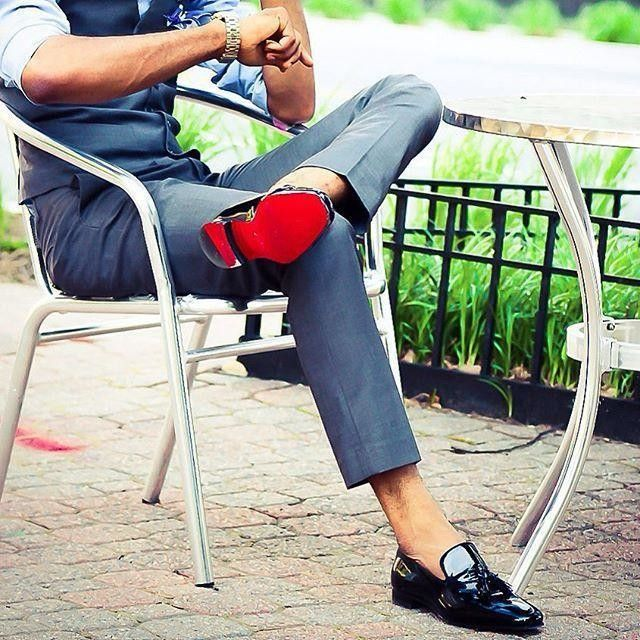 26++ Red bottom boots for men ideas ideas