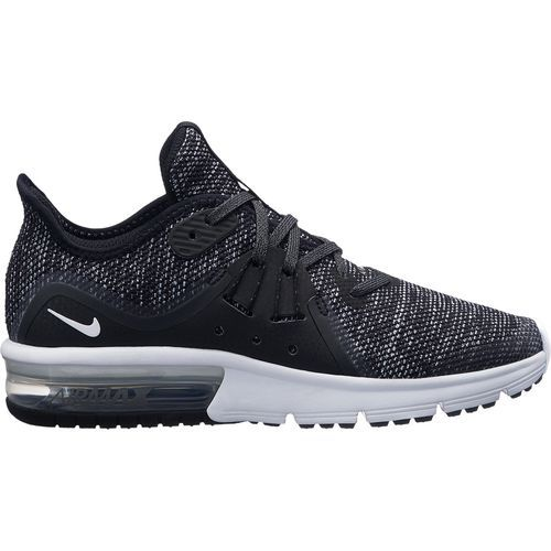 best website fcbb7 46dfa Nike Boys Air Max Sequent 3 Running Shoes (Black, Size 6) - Youth Running  Shoes at Academy Sports