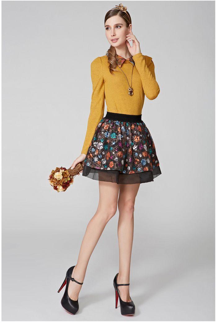 Blusa amarela de manga comprida por R$93,50| Roupas | | TriClick