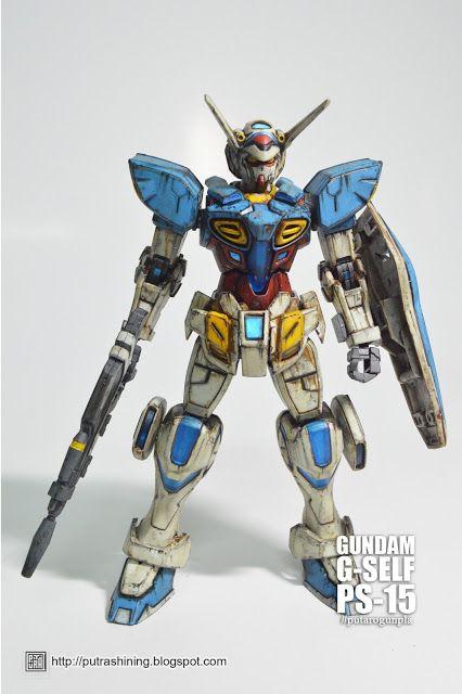 HG 1/144 GUNDAM G-SELF Custom Paint by Putra Shining PUTAROGUNPLA