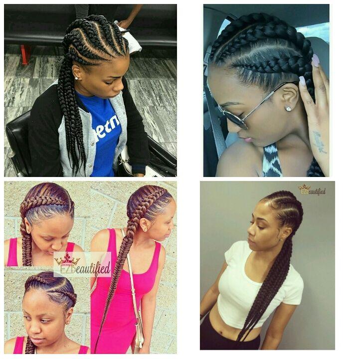 Hair CHALLENGES Ghana braids/ Ghana Invisible Braids/Feed IN Cornrows