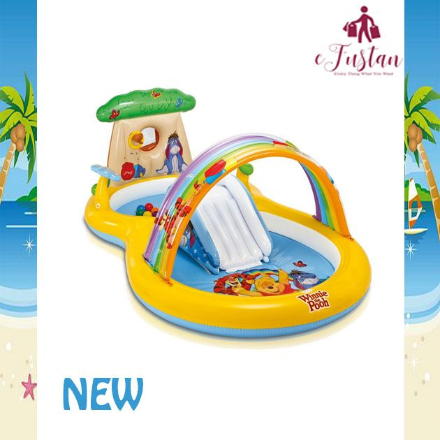 Intex Winnie The Pooh Play Center 57136 111 L X 68 W X
