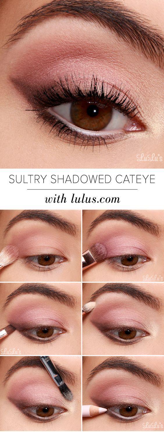15 Einfache Schritt für Schritt Anleitung zum Augenbrauen-Makeup – Makeup | Dessertpin.com – Maquillaje