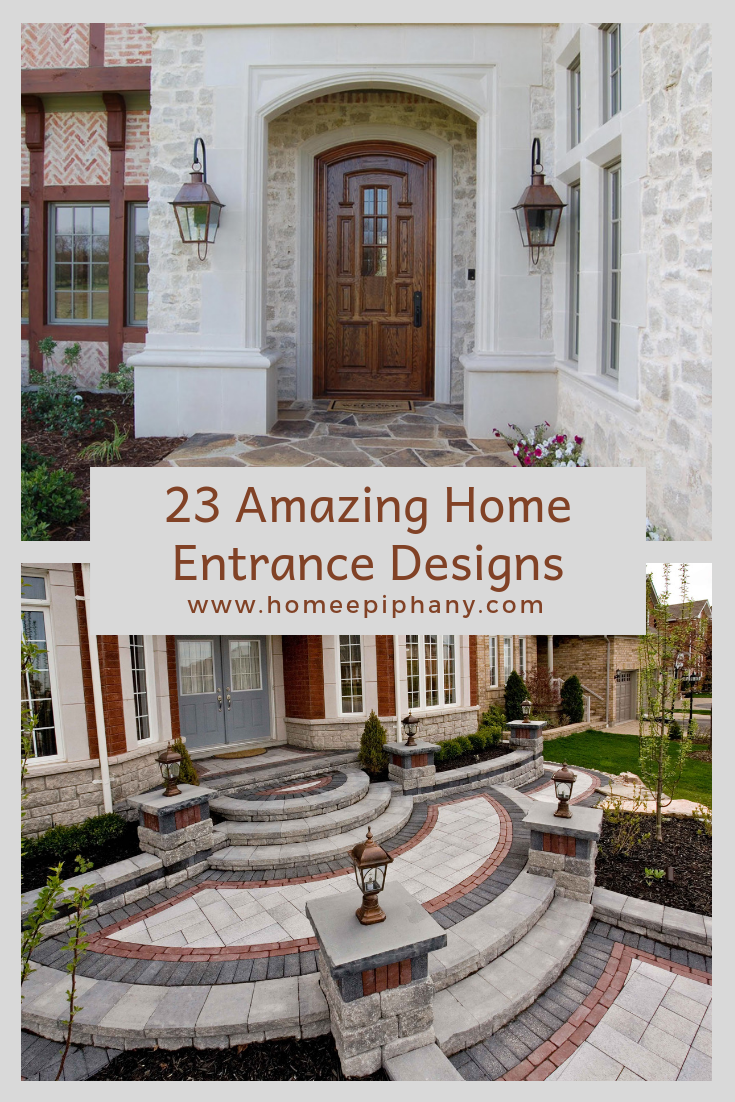 Check out stunning home entrances photos curbappeal homedesign also amazing entrance designs for the pinterest rh